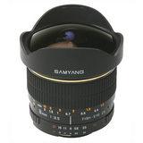 Samyang 8mm f/3.5 Fisheye Olympus objectief - thumbnail 2