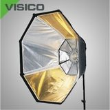 Visico SB-036 Octabox ø 120cm VC series with reversible Silver/Golden inside - thumbnail 1
