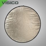 Visico Reflectiescherm Lite Disk Softsun & zilver (RD-023) 102 x 168cm - thumbnail 1