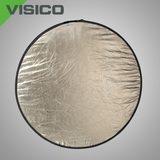 Visico Reflectiescherm Lite Disk Softsun & zilver (RD-023) 120 x 180cm - thumbnail 1