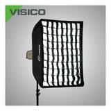 Visico SB-040 Grid Softbox 20 x 90cm VC/VE series met mask - thumbnail 1
