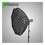 Visico SB-035 Octabox ø 95cm VC series with grid and windows - thumbnail 1