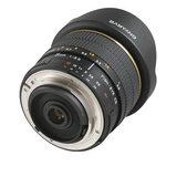 Samyang 8mm f/3.5 Fisheye CS MC Samsung NX objectief Zwart - thumbnail 4