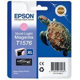 Epson Inktpatroon T1576 Vivid Light Magenta (origineel) - thumbnail 1