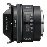 Sony 16mm f/2.8 Fisheye objectief (SAL16F28.AE) - thumbnail 2
