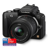 Panasonic DMC-G3K systeemcamera Zwart + 14-42mm