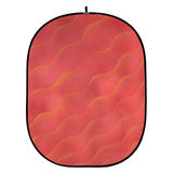 Botero Opvouwbare Achtergrond 150 x 200cm (Salmon/Yellow nr.056) - thumbnail 1