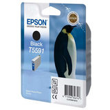 Epson Inktpatroon T5591 - Zwart (origineel) - thumbnail 1