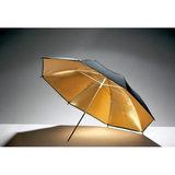 Godox UB-003 Flitsparaplu Goud/Zwart (101cm) - thumbnail 1