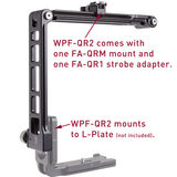 Really Right Stuff WPF-QR2 Flash Bracket with Sliding Mount - thumbnail 3