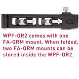 Really Right Stuff WPF-QR2 Flash Bracket with Sliding Mount - thumbnail 4