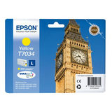 Epson Inktpatroon T7034 - Yellow Standard Capacity - thumbnail 1