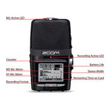 Zoom H2n Handy Audio Recorder - thumbnail 9