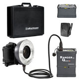 Elinchrom Ranger Quadra + Eco RingFlash set in koffer + extra GEL battery - thumbnail 1