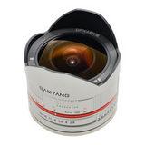Samyang 8mm f/2.8 Fisheye UMC Sony NEX objectief Zilver - thumbnail 2