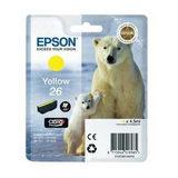 Epson Inktpatroon 26 - Yellow Standard Capacity - thumbnail 1