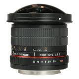 Samyang 8mm f/3.5 Fisheye MC Canon CS-II objectief - thumbnail 5