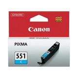 Canon Inktpatroon CLI-551 - Cyan - thumbnail 1