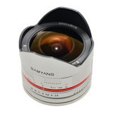 Samyang 8mm f/2.8 Fisheye UMC Fujifilm X objectief Zilver - thumbnail 2