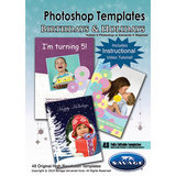 Savage Birthday & Holiday Photoshop Templates - thumbnail 1
