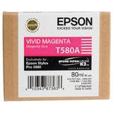 Epson Inktpatroon T580A00 - Vivid Magenta (Pro 3880) (origineel) - thumbnail 1