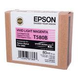 Epson Inktpatroon T580B00 - Vivid Light Magenta (Pro 3880) (origineel) - thumbnail 1