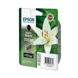 Epson Inktpatroon T0598 - Matte Black/Mat Zwart (R2400) (origineel) - thumbnail 1