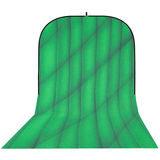 Botero Opvouwbare Achtergrond 250 x 500cm (Green/Dark Green nr.074) - thumbnail 1