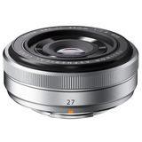 Fujifilm XF 27mm f/2.8 Pancake objectief Zilver - thumbnail 2