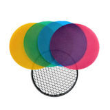 Godox Witstro Flash Color Grid Reflector kit 120mm - thumbnail 1