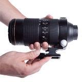 Really Right Stuff LC-A13-Pkg Voet + Statiefgondel Nikon AF-S 80-400mm f/4.5-5.6G VR ED - thumbnail 5