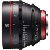 Canon CN-E 50mm T1.3L F (Feet) objectief - thumbnail 1