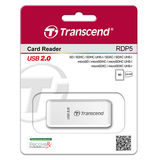 Transcend USB Card Reader P5 Wit - thumbnail 2