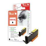 Peach C551XL Inktcartridge Canon CLI-551XLBK  zwart - thumbnail 1