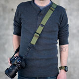 DSPTCH Heavy Camera Sling Strap - Olive Draagriem - thumbnail 3