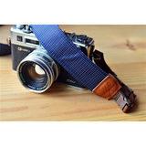 iMo Blauwe Regendruppels Neopreen Camera Strap - thumbnail 1