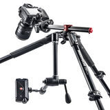 Manfrotto MT190XPRO4 Professional Aluminium Tripod 4 Section - thumbnail 6