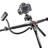 Manfrotto MT190XPRO4 Professional Aluminium Tripod 4 Section - thumbnail 7