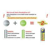 Varta Ready2Use oplaadbare AA-batterijen - 4 stuks (2100 mAh) - thumbnail 3
