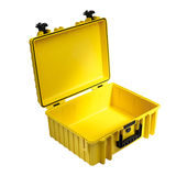 B&W Outdoor Case Type 5000 - Geel met Plukschuim - thumbnail 3