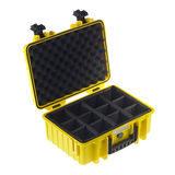 B&W Outdoor Case Type 2000 - Geel met Vakverdeler - thumbnail 2