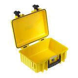 B&W Outdoor Case Type 2000 - Geel met Vakverdeler - thumbnail 3