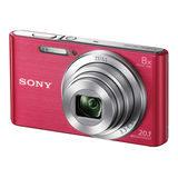 Sony Cybershot DSC-W830 compact camera Roze - thumbnail 1