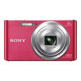 Sony Cybershot DSC-W830 compact camera Roze - thumbnail 2