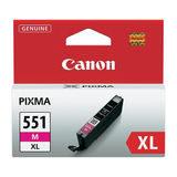 Canon Inktpatroon CLI-551XL - Magenta - thumbnail 1