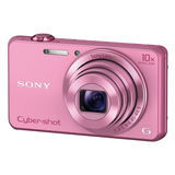 Sony Cybershot DSC-WX220 compact camera Roze - thumbnail 1