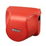Nikon CB-N2210SA Lederen Cameratas Oranje - thumbnail 1