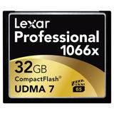 Lexar CF Pro 1066x UDMA7 32GB 160MB/sec compact flash - thumbnail 1