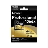 Lexar CF Pro 1066x UDMA7 64GB 160MB/sec compact flash - thumbnail 2