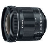 Canon EF-S 10-18mm f/4.5-5.6 IS STM objectief